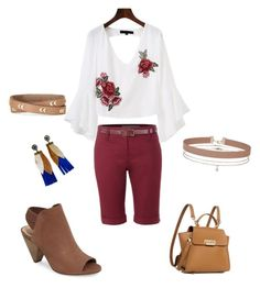 """""""Red Red"""" by oespinal on Polyvore featuring moda, Vince Camuto, LE3NO, ZAC Zac Posen, Miss Selfridge y Stella & Dot"""