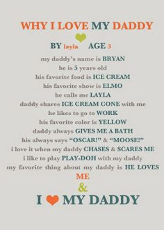 Cute Father's Day gift ideas!