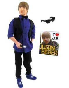 Justin Bieber Basic Dolls: Awards by MPA. $37.80. Also includes mini magazine. Collect them all. Includes fashion outfit and microphone. 12'' Justin Bieber basic doll. Sunglasses. From the Manufacturer                Home videos made him an online phenomenon, and now he's an international superstar. Justin Bieber dominates the charts and captures girls hearts with his catchy songs and signature style. Now you can collect these JB figures in all of his signature l...