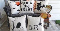 Halloween Pillow Covers | Jane