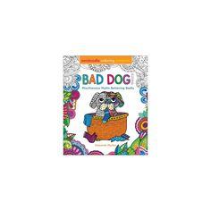 Zendoodle Coloring Presents Bad Dog! : Mischievous Mutts Behaving Badly - by Deborah Muller (Paperback)