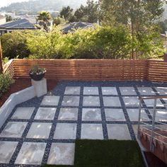 San Francisco Open Pavers · Backyard DesignsPatio DesignBackyard IdeasBackyard  LandscapingDesert BackyardContemporary PatioOutdoor ...