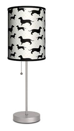 Dachshund Lamp Wiener Dog Lamp by PetMyWiener on Etsy