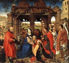 Adoración de los Reyes - (Rogier van der Weyden)