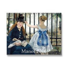 Art by Edouard Manet calendar