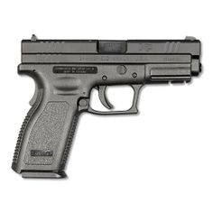 Springfield XD Service Model 4 9mm Semi-Auto Handgun 4 Barrel 16 Rounds Black Finish with Accessory Package XD9101HCSP06