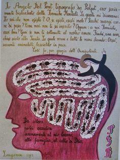Dino Buzzati, I miracoli di Val Morel, 1971. Le formiche mentali.