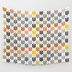 #dogs #pattern #husky #animal #pet #graphic #dog #fashion #style #colorful #color #colors #wall #tapestry #decor