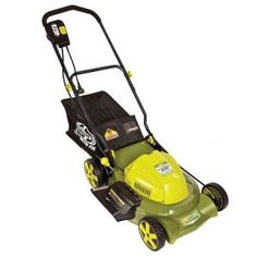 20 in. 3-In-1 Electric Lawn Mower with Side Discharge Rear Bag and Mulch-MJ407E at The Home Depot