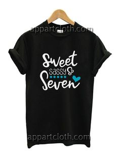 Sweet Sassy and Seven Funny Shirts