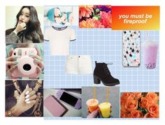 """""""~My Kpop girl group LGS~ (Park Lily)"""" by twentyonepliots-389 ❤ liked on Polyvore featuring Gucci, Nicole Miller, Seed Design, Yves Saint Laurent, Red Herring and Topshop"""
