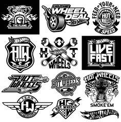 logo / Hot Wheels by Dan Janssen