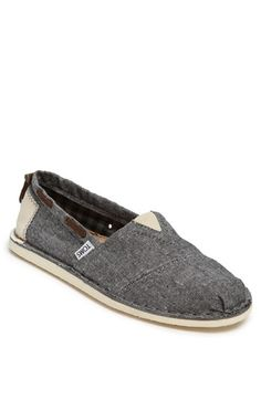 4b156396a67 TOMS  Bimini - Stitchout  Chambray Slip-On (Men) available at