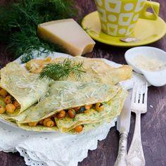 Home - Din secretele bucătăriei chinezești Spanakopita, Cooking Recipes, Ethnic Recipes, Chickpeas, Going Crazy, Parmesan, Pancakes, Fill, Sweet