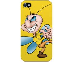 "Wrappz (iPhone 4 & 4S Case) - ""Funny Dancing Fly"" available on: http://simplecastle.com/product-details.asp?id=1003"