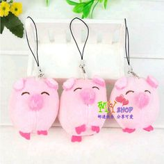 1pc Cute pig plush Wedding gift shed PP cotton 10cm NEW Plush Toys Doll For Children's Baby Birthday Holiday Gift Lovely kid Toy