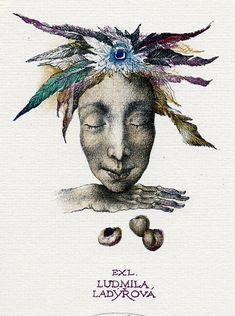 Ex libris by Marina Richter