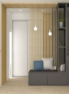 the – charm – dune – canopy – development – decoration – lyon – oullins – renovation – works – architecture – apartment – agency – lanoe – marion Living Room Partition, Room Partition Designs, Interior Architecture, Interior Design, Living Room Designs, Small Spaces, Furniture Design, New Homes, House Design