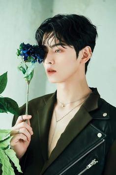 Blue flame aesthetic⚡️⚡️ my bby looks so handsome💖✨ Kim Myungjun, F4 Boys Over Flowers, Cha Eunwoo Astro, Astro Wallpaper, Lee Dong Min, Handsome Korean Actors, Blue Flames, Sanha, Kdrama Actors