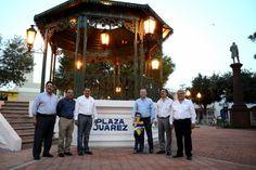 Entrega alcalde Canturosas Plaza Juárez remodelada   Agencia Informativa-Oficina de Corresponsales