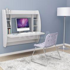 """Навесной компьютерный стол ZEUS AirTable-I WT (белый) - Навесное рабочее место ZEUS"""" AirTable-I WT (белый) - стол для ноутбука, компьютерный стол"""