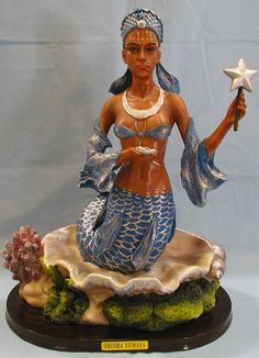 Yemaya - Central American/African goddess of pregnancy and childbirth - We are woman the nurturer and carrier of life.