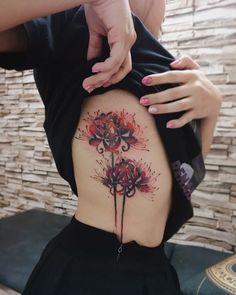 Tattoos on back Dope Tattoos, Anime Tattoos, Pretty Tattoos, Beautiful Tattoos, Body Art Tattoos, Tattoo Drawings, Small Tattoos, Tatoos, Tattoos Skull