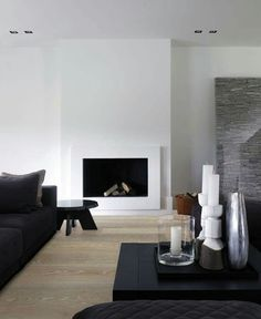 Piet Boon is one of the most important and iconic designers of our time, and belongs to most famous Dutch architects and best interior designers. Get inspired by him and by his creative design team! Home Fireplace, Modern Fireplace, Fireplace Surrounds, Fireplace Design, Fireplaces, Simple Fireplace, Best Interior, Modern Interior Design, Interior Architecture