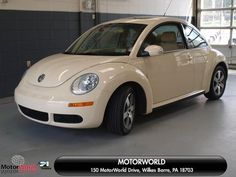 2006 Volkswagen New Beetle Wilkes Barre, PA Beige Volkswagen New Beetle, Beetle Car, Classy Cars, Cute Cars, First Car, Vw Beetles, Future Car, Apollo, Dream Cars