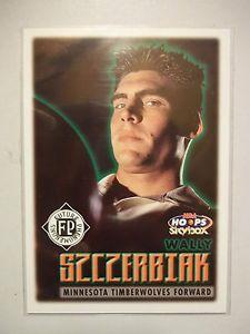 1999-00 Wally Szczerbiak RC - NBA Hoops Skybox Card #178
