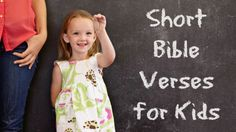 EmailPinterestFacebookTwitterStart small —That sounds obvious, but for kids just beginning to memorize scripture it should be theabsolute rule. Bite-sized Bible verses help kids learn truth…