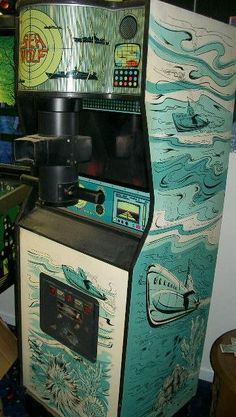 1976 Midway Sea Wolf coin operated arcade video game