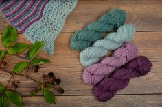 Items similar to Elderberry - Sport Weight - Hedgerow Collection - Yarn Vibes Irish Knitting Yarn - Knitting and Crochet Yarn - Made in Ireland on Etsy Knitting Kits, Knitting Yarn, Wooden Yarn Bowl, Sport Weight Yarn, Garter Stitch, Unique Colors, Wool Yarn, Crochet Yarn, Stitch Patterns