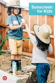 Keep kids safe in the sun with a kids' mineral sunscreen stick that's easy to apply. Plus, it's clean & cruelty-free, too! Uva Rays, Wear Sunscreen, Animal Testing, Simple Bags, Cruelty Free, Minerals, Moisturizer, How To Apply, Skin Care