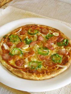 *魚焼きグリルで簡単!石窯風ピザ*