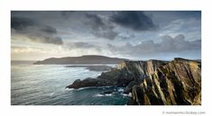 Valentia Island as seem from the magnificent Kerry Cliffs in Portmagee (by Norman McCloskey)