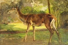 Oil on Canvass of a Deer