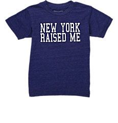 "Little Dilascia ""New York Raised Me"" T-Shirt Boy Fashion, Fashion Design, Boy Blue, Barneys New York, My T Shirt, Boy Outfits, Boys, Shirts, Shopping"