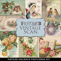 Brindes festas do vintage cartão postal