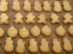 Szybkie maślane ciasteczka - Blog z apetytem Gingerbread Cookies, Baked Goods, Food And Drink, Baking, Health, Blog, Christmas, Cakes, Life
