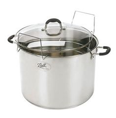 21 Quart Stainless Steel Boiling Water Canner