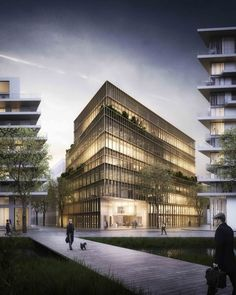 Image 18 of 24 from gallery of Kaufman & Broad Office Building Winning Proposal / Studioninedots. © A2STUDIO