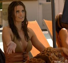 Kate Beckett (Stana Katic) in a Swimsuit in Castle Season 3 Episode 22 ''To Love And Die In L.A.''