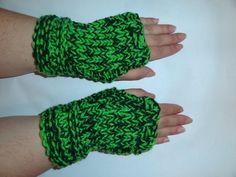 Wrist Warmers Fingerless Gloves Hand Knit   Fashion  $19.99