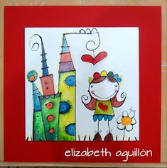 ELIZABETH AGUILLON - ILUSTRACIONES - REALISMO MAGICO: OBRAS Owl Classroom, Picasso, Zentangle, Mixed Media, Projects To Try, Doodles, Frame, Fun, Painting