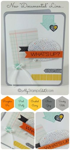 "New Stampin' Up! Products - The ""Documented"" Line"