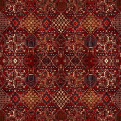 House of Hackney / Mey Meh Carpet Print / H601-4 【4パネル1セット】   輸入壁紙専門店 WALPA