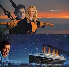 When Klaus makes the Steroline sink. 😲😵😞😣😭 Steroline and Delena forever! Klaus From Vampire Diaries, Damon Salvatore Vampire Diaries, Vampire Diaries Poster, Ian Somerhalder Vampire Diaries, Vampire Diaries Wallpaper, Vampire Diaries Seasons, Vampire Diaries Quotes, Vampire Diaries The Originals, Vampire Diaries Outfits