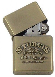 Heavy Duty Sturgis Bike Week Old 1938 Limited Edition Zippo Style Lighter