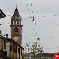 SAN MICHELE CHURCH - according to tradition, it would have been built by the Lombards, who venerated the archangel St Michael, although its existence is documented from the 8th century, prior to Lombard rule of Cremona.  In the 11th century a new basilica